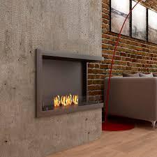 bioethanol fireplace cube insert l800