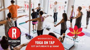 yoga on tap woodstock