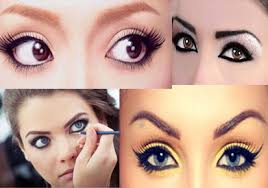 eyes makeup according to your eye shape