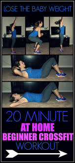 beginner crossfit workout to lose the