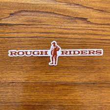 Teddy Roosevelt Rough Riders Sticker The History List