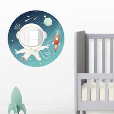 Space Kid Wall Decal And Mirror Items For Kids Animi Causa Boutique