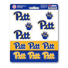 Pitt Mini Decal 12 Pk Fanmats Sports Licensing Solutions Llc