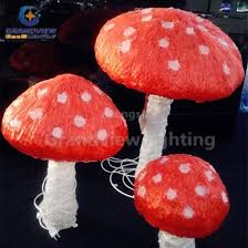 decoration mushroom lights