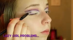 purple cut crease eyeshadow