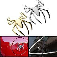 3d Spider Sticker Car Decal Motorcycle Decorations Sticker Halloween Car Wall Home Decor Car Stickers Aliexpress