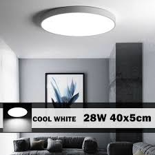 28w led round ceiling panel light
