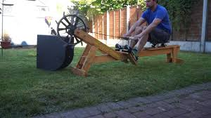 diy rowing machine openergo máquina