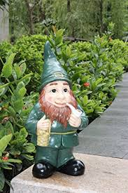 irish leprechaun garden statue ornament