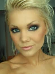 eye makeup for blue eyes and blonde