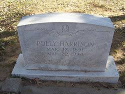 Mary (Polly) Harrison (1891-1994) - Find A Grave Memorial
