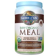 raw organic meal replacement powder