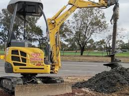 Post Hole Digger Hire With Operator Adelaide Melbourne Areas Dial A Digger