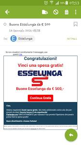 Buono Esselunga 500 euro