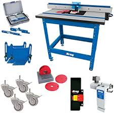 Kreg Prs1045 Krs1035 Prs1025 Prs1015 Router Table With Prs3090 Caster Prs3020 True Flex Prs3100 Router Table Switch Prs3400 Set Up Bars And Krs7850 Router Table Stop Amazon Com