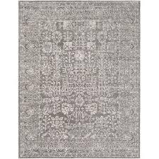 mazon solid black area rug