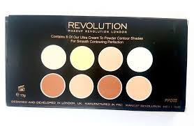 cream contour palette review swatches