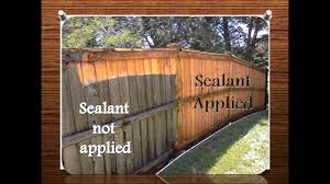 Fence And Deck Sealant Youtube