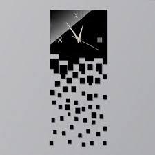 decorative black wall clock diy