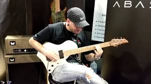 Aaron Marshall of Intervals Playing at the Abasi Guitars Booth Namm 2018 -  YouTube