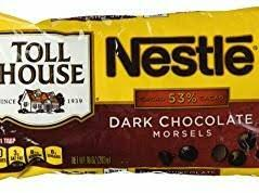 dark chocolate chips nutrition facts