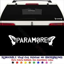 Amazon Com Gottalovestickerz Paramore Music Band Removable Vinyl Decal Sticker For Laptop Tablet Helmet Windows Wall Decor Car Truck Motorcycle Size 15 Inch 38 Cm Wide Color Matte White
