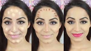 how to apply makeup base in hindi