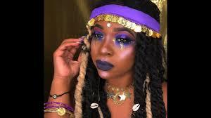 halloween makeup gypsy inspired