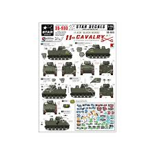 Star Decals 35933 11th Cavalry In Vietnam Cambodia 1 M113 Decals The Largest Choice With 1001hobbies Com