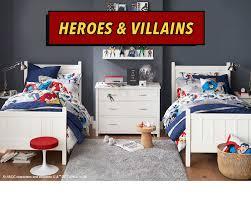 Superhero Room Decor Heroes Villains Collection Pottery Barn Kids