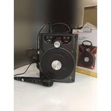 Loa bluetooth cao cấp hát karaoke P-NT-89-88 tặng kèm mic