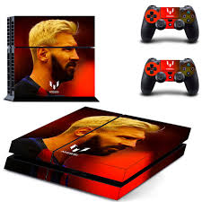 Football Star Lionel Messi Ps4 Skin Sticker Consoleskins Co