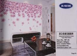 wallpaper imported imitation linen type