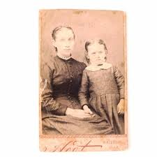 Antique Photograph of Mother and Daughter, Minnie and Addie May Jones –  ThirdShiftVintage.com