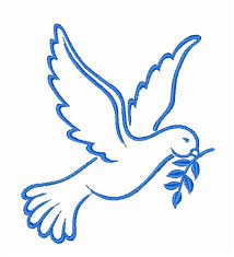 Animals Embroidery Design: Spirit Dove from JumpRope Designs