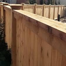 Commercial Natural Cedar Fences Peerless Fence