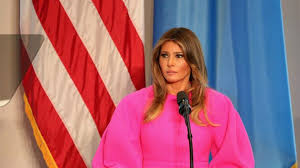 Was Melania Trump's Latest Outfit A Political Statement Or A Wardrobe  Malfunction?