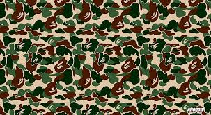 hd wallpaper bape camo aero patterns