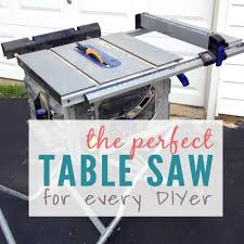 The Best Table Saw For Diyers An Efficient And Treasured Tool Of Diyers