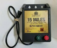 American Farm Works 15 Mile Ac Low Impedance Electric Fence Controller Ebay