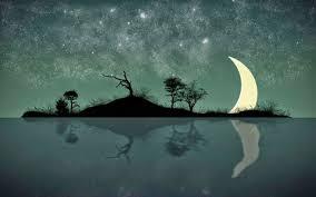صور الليل في خلفيات روعة للقمر والنجوم ليلا ميكساتك