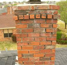 brick chimney repair fireplace