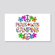 Camping Wall Decals Cafepress