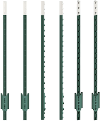 Voss Farming T Post 152 Cm 50 Pieces Metal Post Fence System High Quality Green T Post Fence Post Fence Amazon Co Uk Garden Outdoors