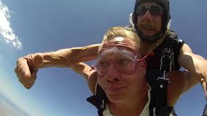 Adam Bracken's Tandem skydive! - YouTube