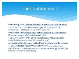 by studying how zeitoun and odysseus relate to their families