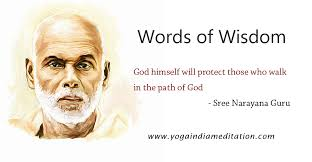 words of wisdom god himself will protect those who walk in the
