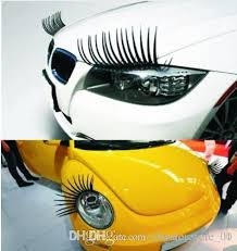 2020 Car Stickers Eyelash Design Decal Cover Car Headlight Sticker Black False Eyelashes Eye Lash Sticker Kka6738 From Dhgate Store 00 1 76 Dhgate Com