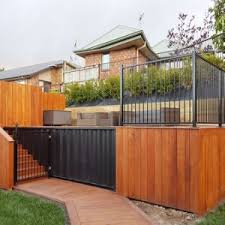 China Powder Coated Automatic Hot Dip Steel Rackab Fence Safety Garden Picket Flat Top Wrought Iron Swimming Pool Security Steel For Villa Fence Hanging Planters China Railing Cast Iron Fence