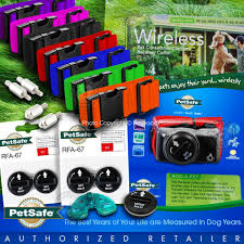Petsafe Pif 275 19 Collar Wireless Dog Fence W Free Strap 5 Batteries Rfa 67 Ebay